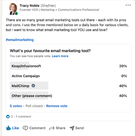 5 Easy Ways To Connect With Your Audience - Polls
